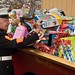 Retired U.S. Marine assists with Toys for Tots
