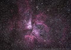 Carina Explodes Into The Southern Sky (Earth & Sky NZ) Tags: newzealand stars observatory mackenzie nebula astrophotography nz astronomy ida 2012 tekapo stargazing aoraki mtjohn earthandsky 15december etacarinae mtjohnobservatory etacarinanebula mackenziebasin december15th internationaldarkskyassociation mtjohnuniversityobservatory darkskyreserve starlightreserve aorakimackenzieinternationaldarkskyreserve dallaspoll