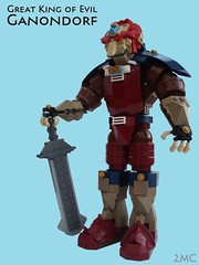 Great King of Evil (2 Much Caffeine) Tags: lego zelda moc ganon ganondorf