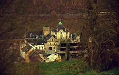 Ruhe (KLammipic) Tags: germany focus dof village silence unfocused strauch mosel winningen
