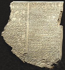 The Flood Tablet, Northern Iraq, 7th.century BC. (Phajus) Tags: cuneiform epicofgilgamesh thefloodtablet