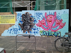 Rotterdam Bergselaan: Lastplak (stephanlam) Tags: streetart rotterdam nederland thenetherlands samsung omnia lastplak bergselaan