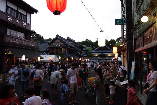 江戸東京たてもの園が夜間特別開園する下町夕涼みに家族で参加してきましたの写真