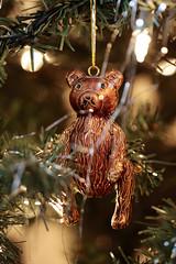 Christmas Bear (Christopher Brian's Photography) Tags: bear christmas ornament christmaseve canoneos7d canonef100mmf28lisusmmacro