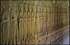 Bajorrelieve en Angkor Wat