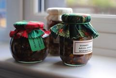 Uncooked Autumn Chutney (What I saw...) Tags: autumn homemade gift jar chutney