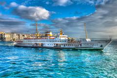 Ferry to Üsküdar district on the Asian side of Istanbul Turkey (mbell1975) Tags: sea water ferry turkey asian boat ship district side türkiye istanbul türkei turkish strait bosphorus waterway boğaziçi marmara türk bosporus üsküdar