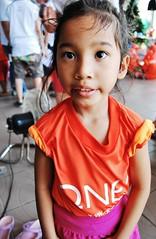 Lashes :) (Minali Liyanage) Tags: cute love smile thailand pretty child lashes eyelashes heart sweet bangkok happiness shy orphanage tiny thai innocence protection potraits baannokkamin