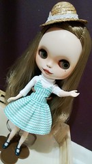 Sloane's new dress.