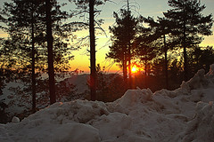 Sunset (Murtaza Mahmud) Tags: travel pakistan sunset snow mountains excellentlandscapes