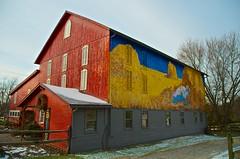 D7K_6142 (votaaj) Tags: barn landscape mural day outdoor pennsylvania farm stable beaverpa felicityfarmsbedbreakfast