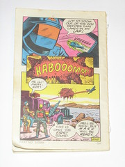 m.a.s.k mini comic 1 flaming beginnings kenner 9 (tjparkside) Tags: comic mask kenner minicomic