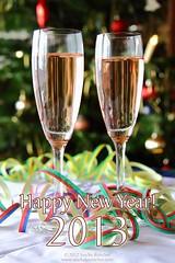 Happy New Year 2013! (boettcher.photography) Tags: new light licht champagne year sekt silvester jahr happynewyear sashahasha einschnesneuesjahr