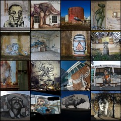 My favourite Graffiti shots from 2012 (Romany WG) Tags: street sea art graffiti elmac roa retna seacreative c215 lamouche rocket01 herakut burnafterreading
