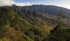 Impressive (CNorthExplores) Tags: usa mountains nature canon landscape island hawaii oahu united powershot valley states impressive ridges g11 waianae makua