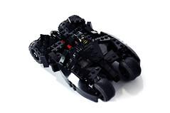 Tumbler (Interior) (pitrek02) Tags: dark dc lego space batman knight gotham batmobile the moc tumbler kmfl lugpol
