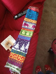 IMG_0177.jpg (gray la gran) Tags: scarf acrylic infinity fairisle stranded favoritethings vannaschoice