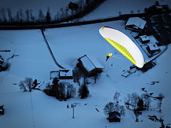 Pi (3.14159265...) (Daniel Wildi Photography) Tags: winter snow cold switzerland flying paragliding glider paraglider berneseoberland gstaad lightweight 314159265 2013 hikeandfly danielwildiphotography advancepi