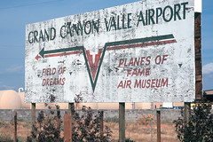 Valle Airport_0134 (Mike Head - Jetwashphotos) Tags: usa southwest sign america us desert grandcanyon valle highdesert northernarizona sparse highaltitude fieldofdreams 40g planesoffameairmuseum valleairport grandcanyonvalleairport