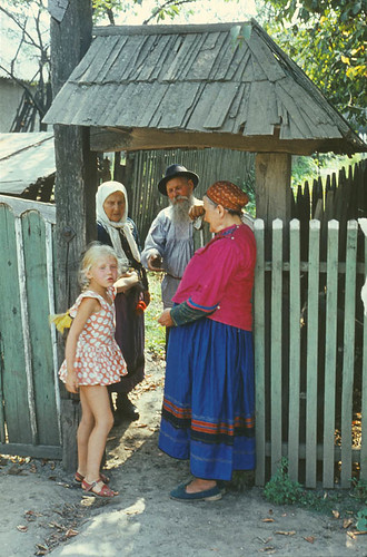 In the village of Pocrovca (1972).