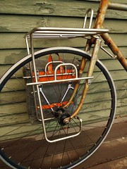 Touring Rack w/ Platform (guidedbybicycle) Tags: bicycle handmade steel rack custom touring stainless
