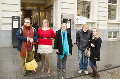 Chris, Liz, Cathie, Mike and Liane Photo