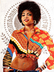 PAM GRIER 100 x 080 cm (anandanahu) Tags: africa street new brazil urban woman brown white black records art nova rio brasil modern female painting de graffiti foxy mujer paint artist acrylic pattern janeiro arte african magic femme mulher arts exhibition spray canvas copacabana pam tropical afrika brazilian arti neo textiles ananda negra quentin realismo grier ipanema forte moderna pintura painture realism fora exposio brasileira tarantino tela tecido feminina firme contemporany blaxploitation coffy realista graphos tropicalismo nahu vejario