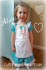 Alice (Cut To Pieces) Tags: costume dress princess alice disney simplicity aliceinwonderland whiterabbit rabbithole prettyprincess downtherabbithole sewalong prettyprincesssewalong