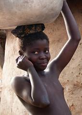 PORTRAIT DE L'ATAKORA (Justinsoul) Tags: portrait people girl face retrato cara portrt ritratto visage        justinsoul