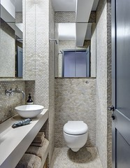 High style, low-budget in this 750 square foot English flat (inspiration_de) Tags: apartment architecture bathroom flat interior residence