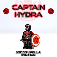 Hydra Cap (agoodfella minifigs) Tags: lego marvel legomarvel legosuperheroes legomarvelsuperheroes legoavengers minifigure minifigures marvelcomics marvelheroes hailhydra hydra hydracap captainamerica steverogers redskull