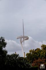 Torre de Calatrava (andrea.prave) Tags: architettura anellaolmpica santiagocalatrava torre montjuc architecture  calatrava arquitectura tower architektur   olimpic olimpiadi 1992 barcellona catalogna spagna espana catalua catalonha reinodeespaa espaa hispania spain catalunya spanien espagne