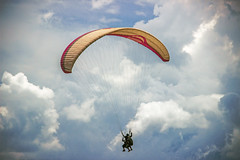 Fly above the clouds (Traveler | Photographer | Graphic Designer) Tags: paragliding parachute clouds cloudscape colorful naturebeauty natureimages naturephotography naturephotograph landscape landscapephotography rohtangpass incredibleindia himachalpradesh devbhoomi outdoor