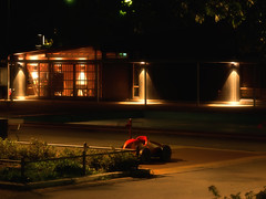 #project365 day 45 (nikodemus) Tags: night red car nostalgic project365 playground