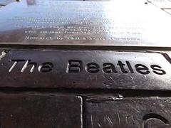 The Beatles brick (Natashasroses) Tags: liverpool northern city 2015 summer waterfront festival merseyside england unitedkingdom holiday uk merseyriverfestival albertdocks thebeatles beatles brick