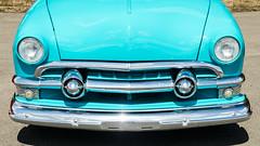 Super smooth '51 (GmanViz) Tags: gmanviz color car automobile goodguysppgnationals nikon d7000 detail 1951 ford victoria grille bumper headlights chrome nose