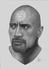 The rock - Dwayne (Alisson Mattos) Tags: realismo realista desenho sketch tattoo ilustrao illustration tatuagem rock dwayne