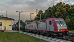 1446_2016_07_08_Baunatal_Guntershausen_XRAIL_6185_590_mit_LKW_Walter_KV_DGS_98799_Worms_Gbf_-_Rostock_Seehafen (ruhrpott.sprinter) Tags: ruhrpott sprinter geutschland germany nrw ruhrgebiet gelsenkirchen lokomotive locomotives eisenbahn railroad zug train rail reisezug passenger gter cargo freight fret diesel ellok hessen inselbahnhof guntershausen bebra boxxboxxpress db cantus hebhlbahn mrcedispolok prontorail rbk sbbc spagspitzke txltxlogistik wwwdispolokcom xrail 101 114 115 146 120 51 152 155 182 185 193 427 428429 482 628928 946 makde27001251 es64u2 es64f4 pbz ic re outdoor logo graffiti natur
