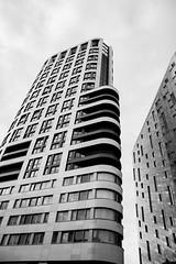 Waves (ADSINUK) Tags: modern building london travel modernism modernist city cityscape 2016 travelphotography design architecture bnw blackandwhite