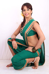 South Actress SANJJANAA Photos Set-6-Mahanadi Clips