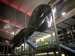 Slipstream at Terminal 2 (phil_male) Tags: heathrow terminal2 slipstream statue