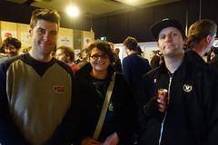 Tristen, Jo and Steve (Three Triple R) Tags: broadcastermeeting2016 radiothon2016 ajewelinthejunkheap rrr rrr1027fm