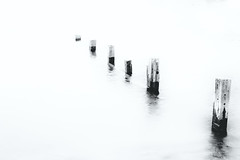 sea (shaun l) Tags: abstract blackandwhite compact fuji minimal seascape teignmouth uk xq1