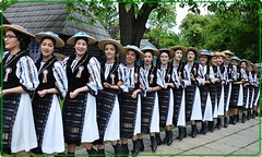 The Capalna Girls' Walking Line Dance - A unique and spectacular dance from Transylvania(1) (Ioan BACIVAROV Photography) Tags: capalnagirlsdance dansulfetelorcapalna transylvania transilvania romania tradition traditie istorie tarnava alba melody song unique spectacular national nationalcostume spiral melodic bacivarov ioanbacivarov photostream interesting beautiful wonderful wonderfulphoto woman women girl girls fille filles fata fete glamour