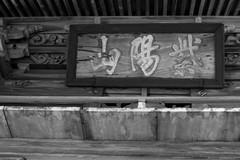 P1020474  Shiyouzan-Koufukuji Temple (Keishi Etoh rough-and-ready photoglaph) Tags: kumamoto tamana   panasonic lumix gx7 panasoniclumixgx7 dmcgx7 panasonicdmcgx7 microfourthirds voigtlndernokton25mmf095 voigtlnder cosina 50mm mf manualfocuslens   koufukujitemple blackandwhite bw monochrome