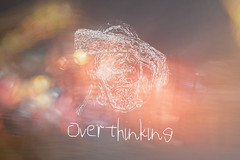 Overthinking (Evelien Heijne) Tags: motion photography art artsy creation feeling feelings colors colours photoshop overthinking sad depression sadness too much idk
