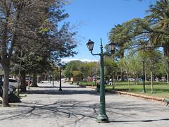 "Cafayate: la Plaza San Martín <a style=""margin-left:10px; font-size:0.8em;"" href=""http://www.flickr.com/photos/127723101@N04/29121459140/"" target=""_blank"">@flickr</a>"
