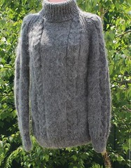Rusalionka Turtleneck mohair design (Mytwist) Tags: sweater wool knitted warm mens womens handmade unisex mohair style fashion webfound mytwist handgestrickt handknitted handknit craft ebay fuzzy cozy turtleneck rollneck