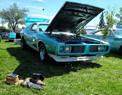 Northern Mopars Car Show (Sherlock77 (James)) Tags: calgary carshow car classic dodge charger cowboyboots cowboyhat smartphone