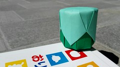 Box — Tomoko Fuse (.corsini) Tags: box singlesheetorigami origami tomokofuse